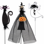 Halloween Pumpkin Decorations (Set of 3)