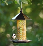 Mosaic Glass Tile Bird Feeder by Exhart