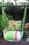 Fresh Lime Prism Garden Hammock Chair Swing Set