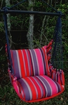 Lava Stripe Classic Hammock Chair Swing Set