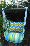 Beach Boulevard Chevron Hammock Chair Swing Set