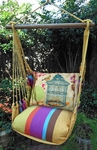 Cafe Soleil Prism Garden Hammock Chair Swing Set