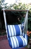 Marina Stripe Classic Hammock Chair Swing Set