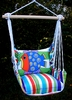 Fine & Dandy Blue Fish Hammock Chair Swing Set