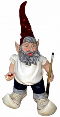 Pool Shark Gnome - Click to enlarge