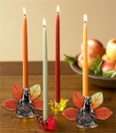 Thanksgiving Turkey Candle Holders (Set of 2)