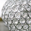 "Large Glam Ball LED - 9"" White"