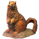 "Garden Squirrel - 10"" Red"