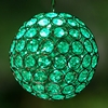 Glam Ball LED Lights - Green