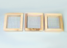 Sieve, Wooden Set of 3
