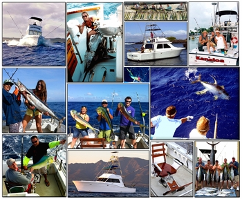 Chupu North Shore Sport Fishing Charter Boat Fleet