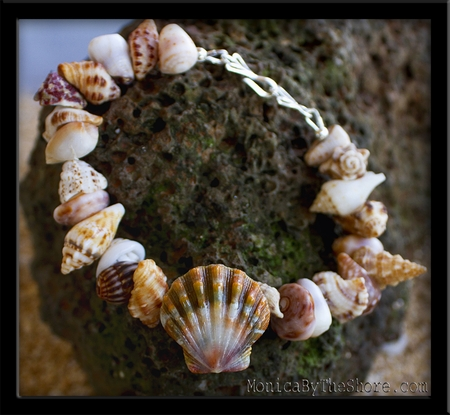 Sunrise Shell Beach Candy Nature Tones Bracelet