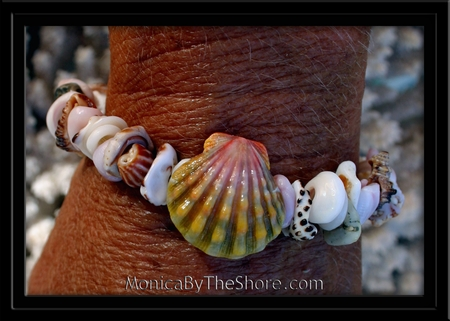 Ke Iki Beach Sunrise Shell & Seashell Bracelet