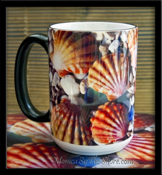 Sunrise Shell 15oz Ceramic Coffee Mug