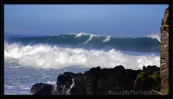 Waimea Bay Big Morning at First Light