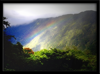 Waipio Valley Misty Rainbow