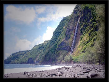 Waipio Valley Cliffs Waterfalls