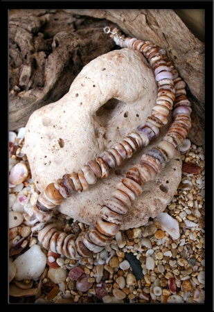 Custom Cone Puka Shell Necklace for Dad & Son