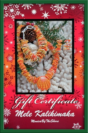 $50 Holiday Gift Certificate