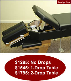 Prestige Propped Thoracic Table