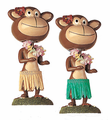 Monkey Bobblehead - Dancing Hula
