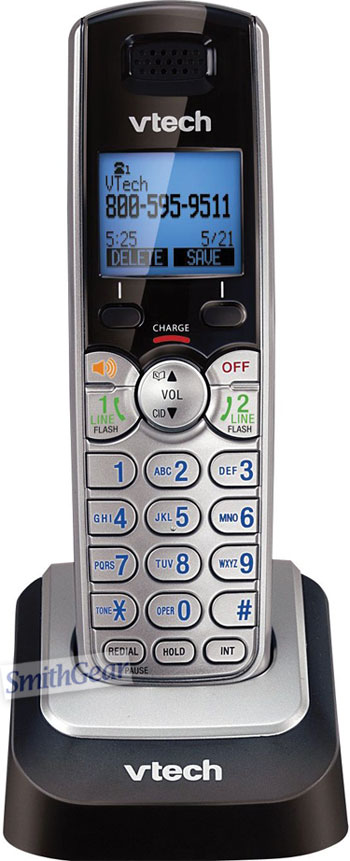 VTech DS6101 2-Line DECT 6.0 ACCESSORY Cordless Handset for the DS6151