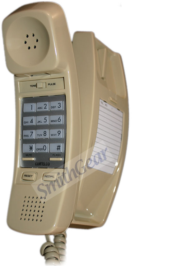 Cortelco 8150 Corded Desk Wall Phone Ash