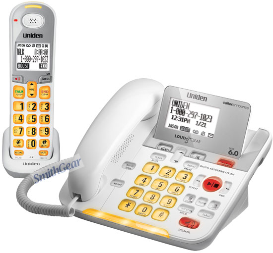 lified phone with answering machine