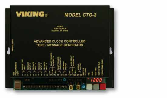 Viking Ctg 2 Time Controlled Tone Generator With Advanced