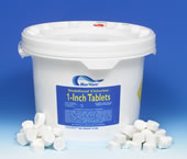"50 Pounds - 1"" Chlorine Tablets"