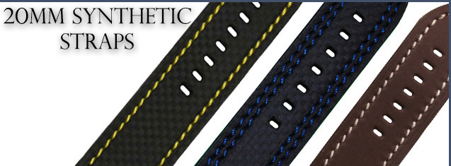 20mm Synthetic Straps