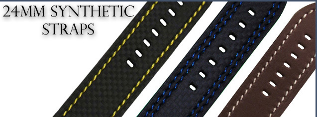 24mm Synthetic Straps