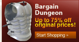 discounted armor, medieval armor on sale