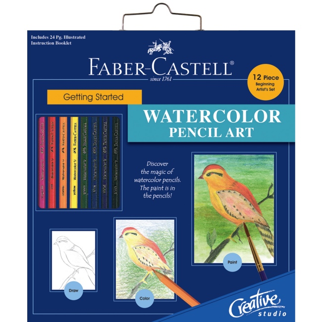 Watercolor Pencil Art Kit For Beginners Paint Amp Draw