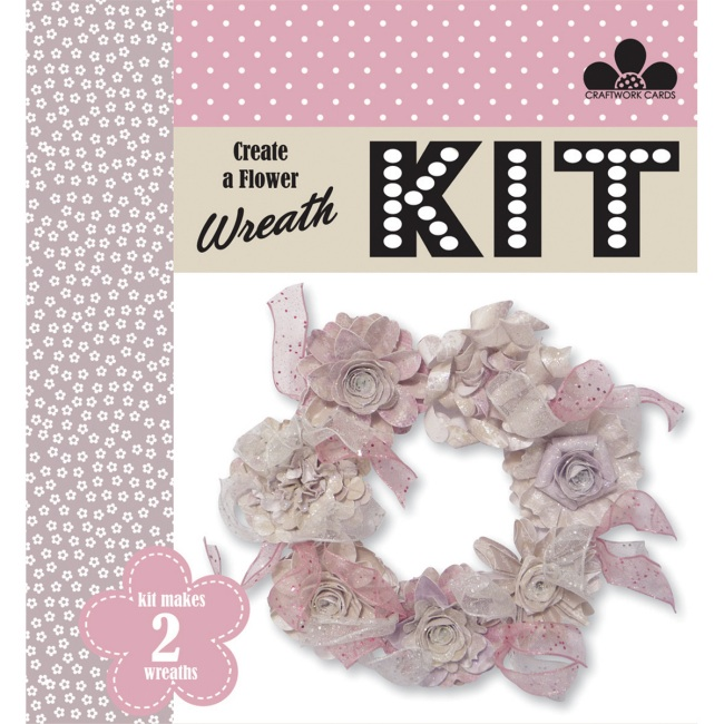 Bohemian Create a Wreath Kit - Paper Crafts at Weekend Kits