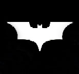 Batman White Movie Logo T-shirt