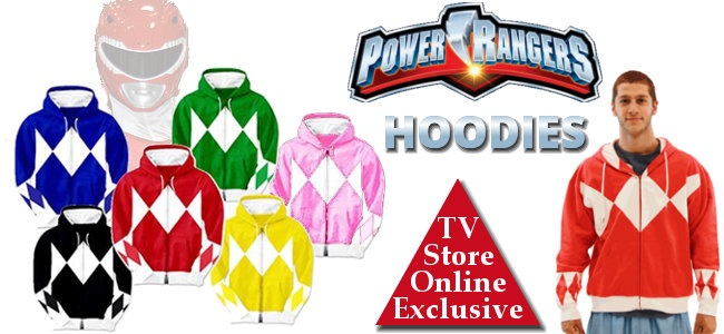 Power Rangers Hoodies
