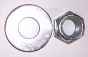 AXLE LOCK & WASHER KIT NUT FOR HOWSE DISC HARROW