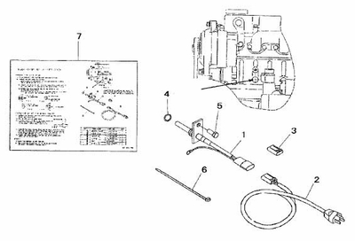 BLOCK HEATER KIT FOR 2615 MAHINDRA TRACTOR