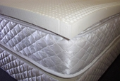"2 "" Queen Blended Talalay Latex Mattress Topper"