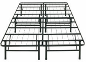 Twin Metal Bed Fram Support System