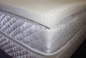 """2"""" Queen All Natural Talalay Latex Topper"""