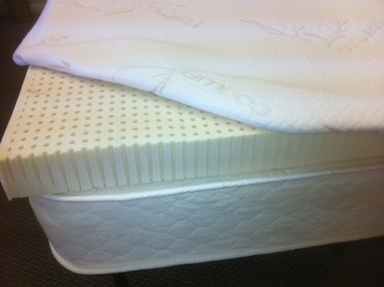Queen 3 Inch All Natural Talalay Latex Mattress Topper 3