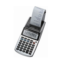Canon Ei-5100 Portable Compact Palm Printing Calculator / Adding Machine