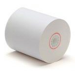 "2.25"" X 165' 1-Ply Cash Register / Calculator Paper Rolls (12 Pack)"
