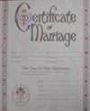 Marriage Certificate Version 2