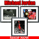 Michael Jordan Framed Pictures and Action Photos For Sale