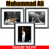 Muhammad Ali Framed Pictures and Action Photos for sale