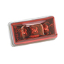 Bargman Clearance Light LED #99 Red w/Type 302 Stainless Steel Hardware