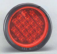 LED Flush Mount Round - Pattern Changing Technology,Red